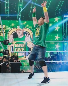 John Cena is Back Smackdown Legend  8x10 Photo WWE crowd thank you