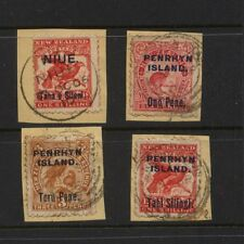 Penrhyn Island     nice lot  used on piece           KL1008