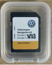 OEM VW Discover Media Navigation AS Latest V13 - 2020/21 Sat Nav Map SD Card UK