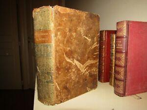 Livre Ancien Epoque XVIIIème 1786 Concordance de la Bible en Latin