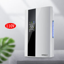 Home Remote Intelligent Dehumidifier Mini Moisture Absorption Dryer Quiet 110V
