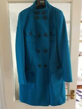 Size 12 Teal Warm Peacock Marks and Spencer Coat BNWOT