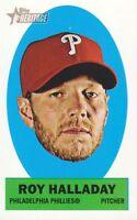 2012 Topps Heritage Stick-Ons Mini #30 Roy Halladay Philadelphia Phillies