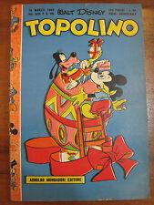 *TOPOLINO LIBRETTO* N.135 - 25 marzo 1956 - DISNEY - ORIGINALE- OTTIMO+