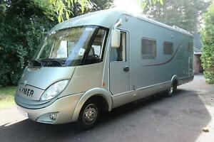 Hymer S790 4 Berth Fixed Rear Bed Motorhome For Sale