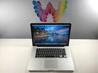 Apple MacBook Pro 15 ULTRA PRE-RETINA UPGRADED 8GB RAM 500GB ~ 3 YEAR WARRANTY