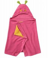 Jumping Beans Butterfly Hooded Bath Towel Pink Child Size Cotton Wrap