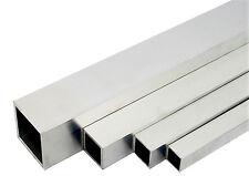 Aluminium Quadratrohr Alu Rohr Stab Stange Aluprofil Vierkantrohr Walzblank T66
