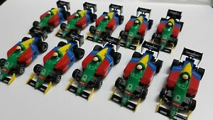 TYCO F1 #19 BENETTON WITH ROLLING CHASSIS LOT OF 10. FREESHIP