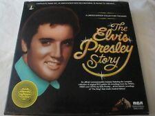 ELVIS PRESLEY THE ELVIS PRESLEY STORY VINYL LP BOX SET 1977 RCA SPECIAL PRODUCTS