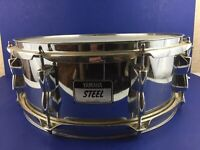 Yamaha SD 245A Steel Shell Snare Drum 6 x 14 Complete