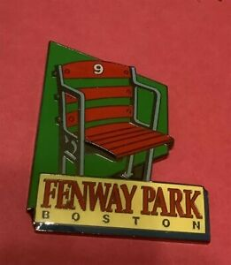 BOSTON RED SOX FENWAY PARK STADIUM SEATING TRIBUTE COLLECTOR PIN
