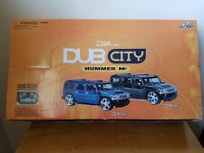 jada toys 1/24 diecast dub city hummer H2 box of 4 small spot of humility
