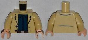 Lego Super Heroes Minifigure body Torso Aldrich Killian MARVEL Minifig Part