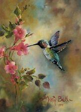 Chart Needlework Crafts DIY Counted Cross Stitch Pattern PDF Hummingbird