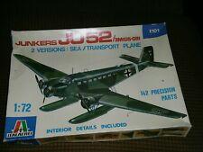 New ListingSealed Italeri kit 101 Junkers Ju-52 3M(G5-G9 transport aircraft 1:72 scale