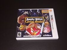 Angry Birds Star Wars Nintendo 3DS Complete CIB Cleaned & Tested