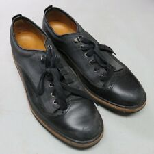 TIMBERLAND ABINGTON GUIDE OXFORD US 11.5 1/2 Black Loafers Wing Tip Dress Shoe