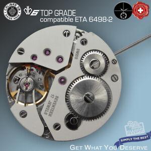 MOVEMENT CALIBRE DB6 compatible ETA 6498-2 TOP GRADE HAND WIND SWISS ALTERNATIVE