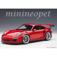AUTOart 78165 PORSCHE 911 991 GT3 RS 1/18 MODEL GUARDS RED with SILVER WHEELS