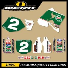 HONDA CR125 CR250 CR500 1990-2007 CASTROL ROB HERRING GRAPHICS
