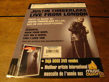 JUSTIN TIMBERLAKE LIVE FROM LONDON!!!!!FRENCH PRESS/KIT