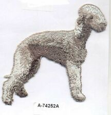 Bedlington Terrier Dog Embroidery Patch