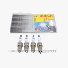 VW Volkswagen Spark Plugs Plug Set Super Platinum Bosch OEM FR 7H PP222 (4pcs)