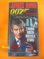film VHS JAMES BOND 007  L' UOMO DALLA PISTOLA D'ORO CARTONATA  (F30)  no dvd