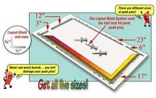 Morton LB17 Glass Layout Block System 17-inch + Pins