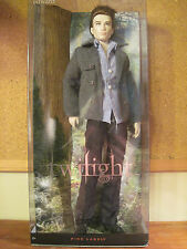 TWILIGHT EDWARD BARBIE DOLL! PINK LABEL COLLECTION