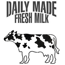 Milk Cow Dairy cattle stencil for Crafting Reusable Template GRAFFITI