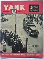 YANK - Vittel Internment Camp- Battle for Aachen Germany  1944 WW II  British Ed