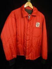 "Vintage(?) Men's Big H Feed Red Zip Up Jacket; 28"" Long"
