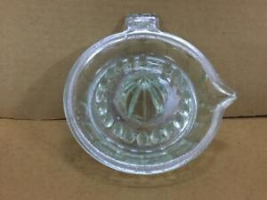Vintage rare unique Glass Citrus reamer Juicer Orange/Lemon Juice Squeezer
