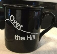 Over The Hill Mug Ceramic 40th 50th 60th Birthday Vintage Novelty Humorous