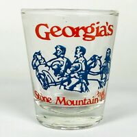 Georgia's Stone Mountain Souvenir Shot Glass