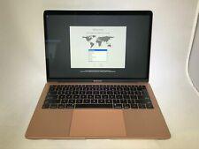MacBook Air 13 Gold 2018 MRE82LL/A 1.6GHz i5 8GB 128GB Good Cond - Faint Spot