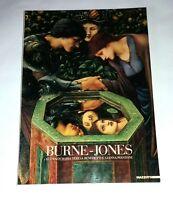 Burne-Jones dal preraffaellismo al simbolismo - Mazzotta, 1986 - Catalogo arte