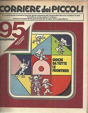 CORRIERE DEI PICCOLI n° 30 del 1979 (con Sclavi, Marzolino Tarantola....)