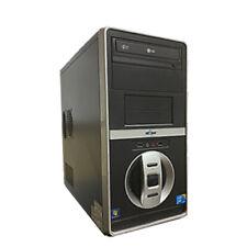 Fast Desktop Computer Windows 10 PC Intel Core 2 Duo CPU 4GB 80GB HD Wifi DVD
