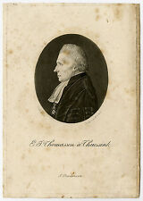 Antique Master Print-PORTRAIT-PHYSIONOTRACE-THOMASSEN A THUESSINK-Quenedey-Lubbe