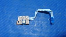 "Toshiba Satellite L875D-S7332 17.3"" Genuine Power Button Board w/Ribbon ZWJ10B01"