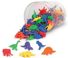 Learning Resources Mini-Dino Counters Set - 108 Pieces New Open Box - Missing 3