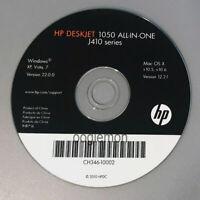 Setup CD ROM for HP Deskjet 1050 All-In-One J410 Series Software for Windows Mac