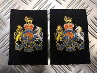Genuine British Royal Navy RN Warrant Officer (WO1) Rank Slides Epaulettes - NEW