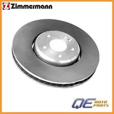 Front Left Brake Rotor Zimmermann Formula Z 2104211812 For: Mercedes W208 W210