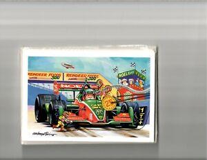 Christmas Cards IndyCar Cart Pit Stop Champ Car IRL Formula 1