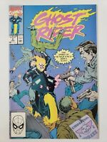 GHOST RIDER #2 (1990) MARVEL COMICS 2ND APPEARANCE OF DANNY KETCH! TEXEIRA!+