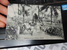 More details for colombo sri lanka ceylon  ethnic transport   postcard  1905 era  vgc   a gk
